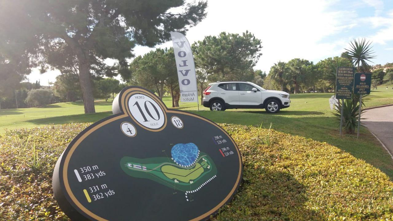 Volvo, coche oficial de la decimosexta Final Nacional de Golf del Torneo Atresmedia