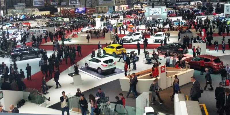 Las marcas de Grupo Paredes Automoción en el Salón Internacional del Automóvil de Ginebra 2019