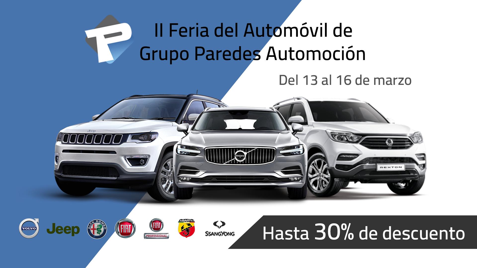 II Feria del Automóvil de Grupo Paredes Automoción