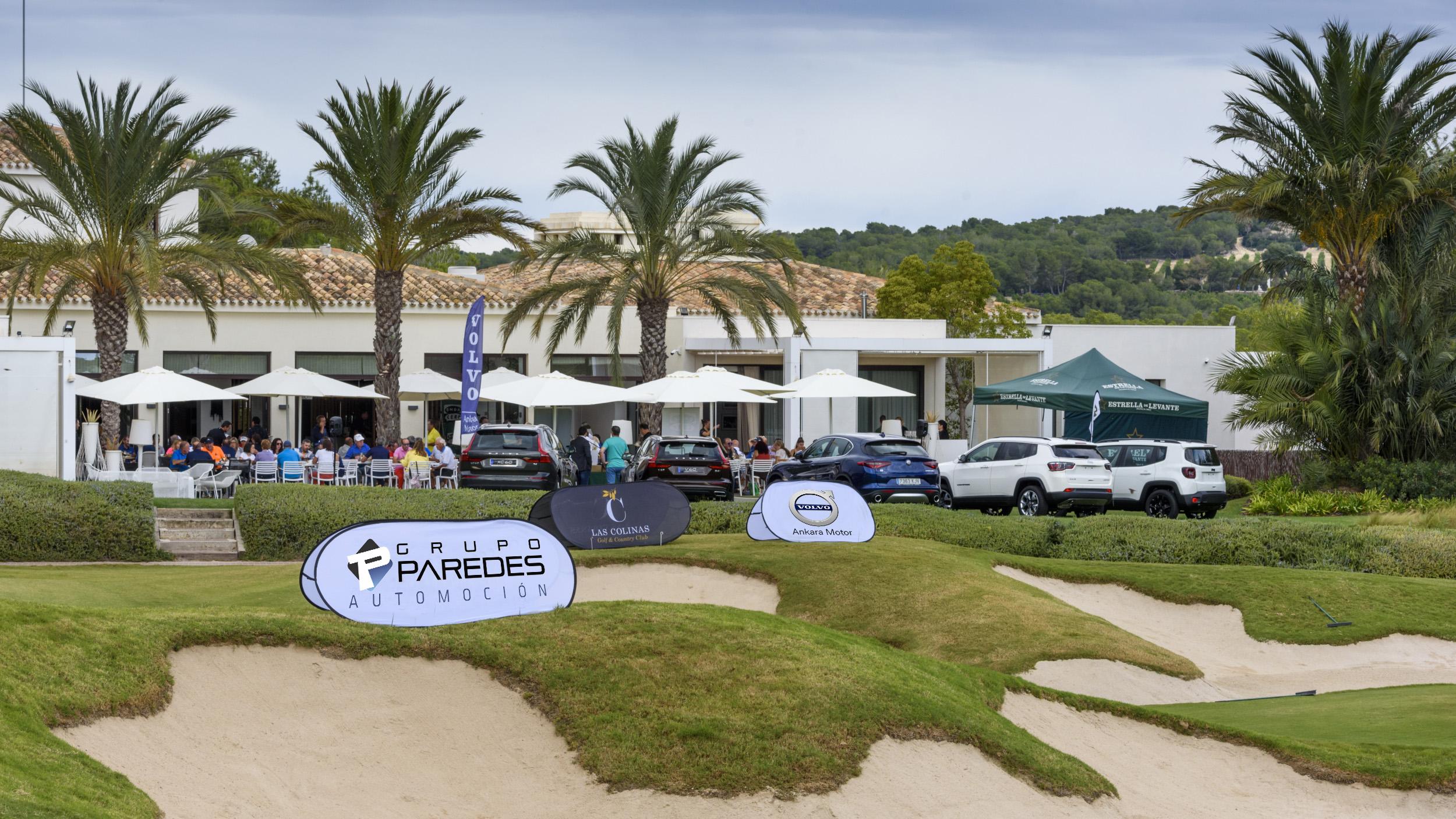 Grupo Paredes Automoción presente en el VII Torneo de Golf Onda Cero Vega Baja